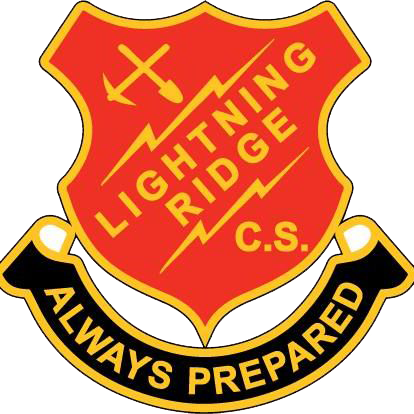Lightning Ridge Central School logo